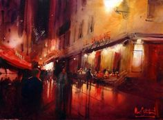 by Alvaro Castagnet #watercolor jd