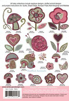 Baby Patchwork Garden | Anita Goodesign $40