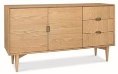 Scandi style sideboard - Oslo wide sideboard, Oslo oak wide sideboard, ... - Green with Envy