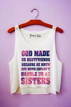 Best Friends Crop Tank Top - Yotta Kilo