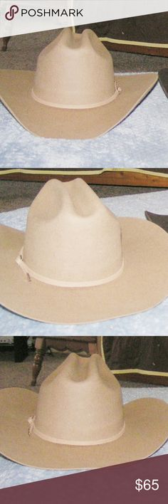 402c4cc00a5 Tan Wool Western Cowboy Hat NWOT Summit Hats brand