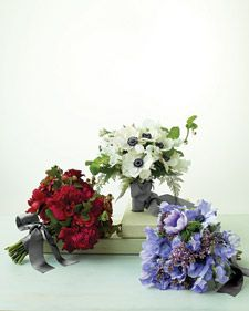 Spring Anemone Bouquets