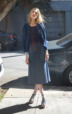 Anaïse | A Détacher Seine Skirt