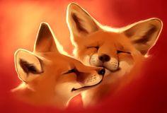 Fluffy love by Martith.deviantart.com on @DeviantArt