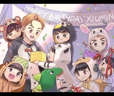 Hym's Fanart Blog : Photo xiumin