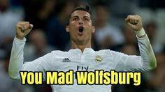 Real Madryt pokonał VFL Wolfsburg dzięki Portugalczykowi • Cristiano Ronaldo - jesteś zły Wolfsburg? • Memy po Lidze Mistrzów >> #football #soccer #sports #pilkanozna
