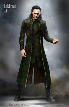 Loki costume design for Thor : Raganrok Via https://www.weibo.com/1846858632/FvA8SruiB?from=page_1005051846858632_profile&wvr=6&mod=weibotime&type=comment#_rnd1511112434486