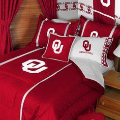 OU sooners bedding