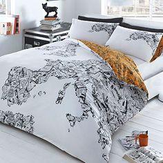 Ben de lisi home world print map bedding set at debenhams white comic map bedding set duvet covers pillow cases bedding home furniture 30 gumiabroncs Images