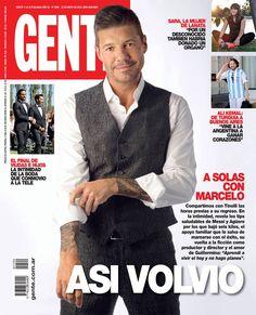 Gente (Argentina) con #MarceloTinelli en tapa #portadas #revistas #revistasargentinas #Showmatch2015