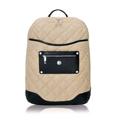 Knomo Sella laptop backpack. (But doesn't it look like Chanel?)