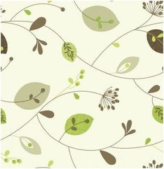 oilcloth fabric leaves - Google Search