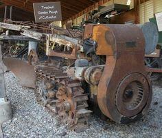 1983: Vaughn Flex Tred garden tractor
