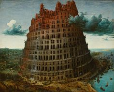 Pieter Bruegel the Elder. The Tower of Babel (Rotterdam). oil on panel — 1563. This work is linked to Genesis 11:4