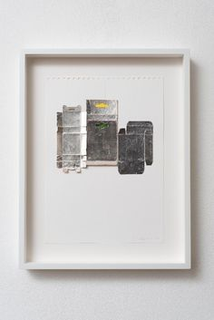 Untitled mixed media painting by Rachel Whiteread