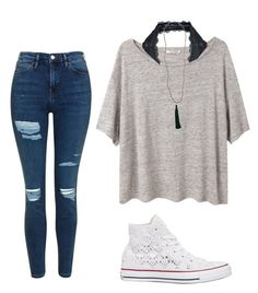 """"" by urmom317 on Polyvore featuring Acne Studios, Free People, Topshop, Converse and New Directions"