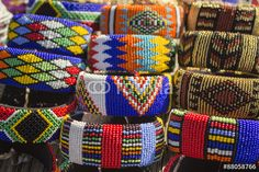 29 new Ideas for fashion african traditional south africa African Beads, African Jewelry, African Bracelets, Beaded Bracelets, Bangles, Beaded Jewelry, African Market, Xhosa, Craft Markets