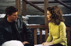 Remember the strong connection that formed between Liz and Jason after Lucky's presumed death in 1999? Do AJ and Liz have the potential to be what Liz and Jason were?#GH #GH50