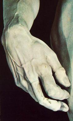 David (détail), par Michelangelo