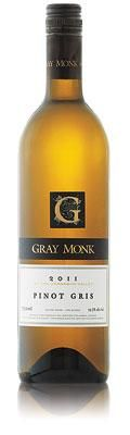 Gray Monk Pinot Gris Pinot Gris, Whiskey Bottle, Gray, Drinks, Food, Wine, Drinking, Beverages, Grey