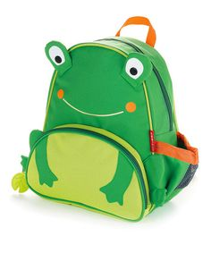 Zoo Pack Frog by Skip Hop on #zulily - my nephew has this...
