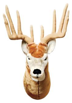 Oh, totally getting the deer and moose plush headmounts from BassPro too! Bass Pro Shop, Deer Camp, Mommy And Son, Boy Fishing, Rustic Nursery, Wild Creatures, Animal Heads, Baby Boy Nurseries, Boy Room