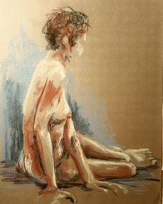 © Heather Stivison HeatherStivisonArt.Com Pastel Study-Heather Stivison-The trouble with quick figure studies is sometimes the pose is over before the drawing is complete. Still, I love the experience. Need to get faster or find a place with longer poses though! #figuredrawing #drawing #art Drawing Art, Figure Drawing, Figure Studies, My Drawings, Study, Poses, Black And White, Instagram Posts, Painting