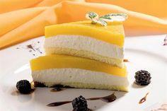 Semifreddo de mango  Semifreddo de mango.         Foto:Alfredo Willimburgh