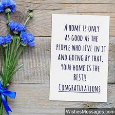 New Home Wishes and Messages: Congratulations for Buying a New House Welcome Home Quotes, New Home Quotes, Today Quotes, Home Quotes And Sayings, New Home Messages, New Home Cards, Wishes Messages, Wishes Images, New Home Greetings