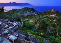 luxury resort in #sardinia