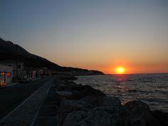 Sunset in Samos Greece