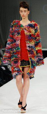 Chloe Orange, Manchester School of Art - Graduate Fashion Week