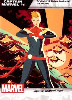 Captain Marvel promo