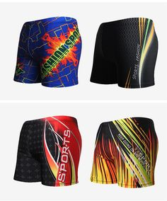 aab37a90e92 2017 Summer New Swimming Pants Beach Shorts Geometric Imprint Fully Lined  Elastic Adjustable Tie Super Quality Trunks for Men. ASOW MALL · Men's  Clothing