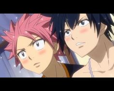 Fairy Tail, Natsu and Grey