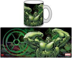 Taza Los Vengadores. La Masa (The Hulk)