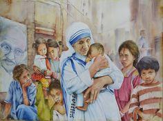 Saints, Religion, Spirituality, Museum, Couple Photos, Artwork, Artist, Painting, Santos