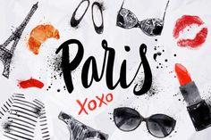 Paris Set by Anna on Creative Market