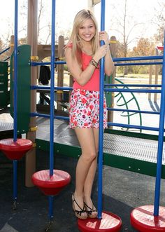 Olivia Holt - Playground Photoshoot in LA