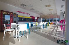 Office design by for Deutsche Telekom Services Europe - Romania Office Interior Design, Romania, Europe, Interiors