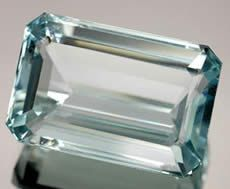 Natural Blue Aquamarine, birthstone for #March