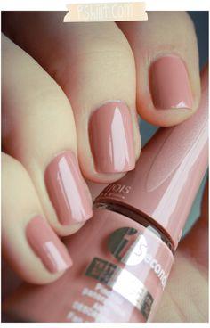 """old"" or ""aged"" kind of beige pink: Bourjois in ""Beige Distinction"""
