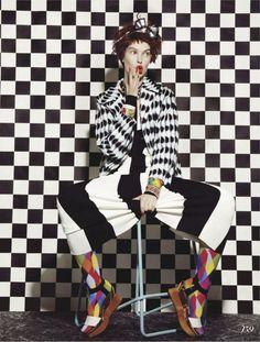 Brilliant outfit. busy bodies: anastasija kondratjeva by jamie nelson for fashion canada march 2013.