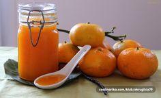 Prefine domaće mandarine, završile su u ovoj mirisnoj i ukusnoj deliciji.... Zo, hvala!