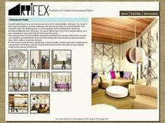 interior design student portfolio examples google search