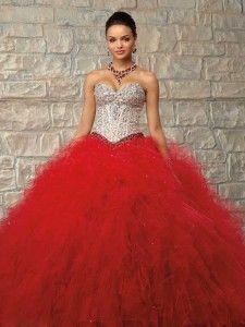 Suknie balowe Serduszko do podłogi Tiul Sukienki studniówkowe #QD010