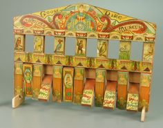 107.4168: Mother Goose Dime Museum | play set | Play Sets | Toys | National Museum of Play Online Collections | The Strong