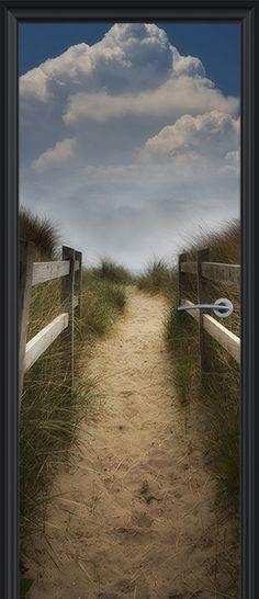 Deurposter van Mijneigendeur.nl - Unieke en mooie deurposters