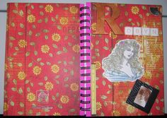 Note book cover, a gift for a friend