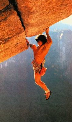 "Wolfgang Gullich on ""Separate Reality"". First to free solo in 1986."